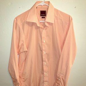 David Donahue Men's Dress Shirt - Trim Fit